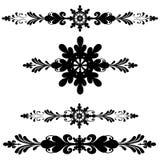 линия ornamental украшения штанги Стоковое Изображение