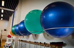 линия pilates шариков Стоковая Фотография