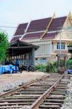 линия railway спада стоковые фотографии rf