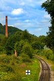 линия railway Стоковые Изображения RF