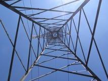 линия trasmission башни Стоковое Изображение RF