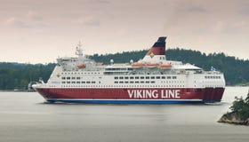 Линия Viking парома. Стоковая Фотография