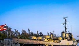 Линкор Lhuangprasae памяти Стоковое фото RF