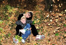 линять листьев Стоковые Фотографии RF