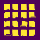 Липкие примечания Collection-04 Стоковая Фотография RF