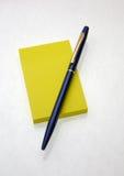 липкий желтый цвет Стоковая Фотография RF