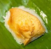 Липкий рис с испаренным заварным кремом Стоковое Изображение RF