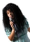 лиричная певица Стоковое Изображение RF