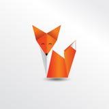 Лисица Origami Стоковое Изображение RF