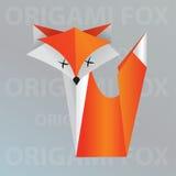 Лисица Origami Стоковые Фото