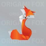 Лисица Origami Стоковое Фото