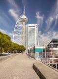 Лиссабон, парк наций стоковая фотография rf