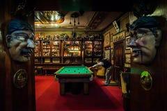 ЛИССАБОН, ПОРТУГАЛИЯ - 31-ое января 2011: исторический бар Китаев Pavilhao в районе альта района в Лиссабоне стоковое изображение