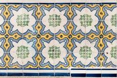 Лиссабон, Португалия - 18-ое января: Красивое традиционное azule плиток Стоковое Изображение