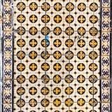 Лиссабон, Португалия - 18-ое января: Красивое традиционное azule плиток Стоковые Фото