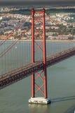 Лиссабон Bridgge Стоковое фото RF