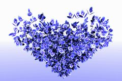 Листво цветка Стоковая Фотография