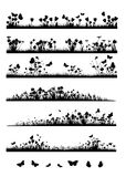 листво цветков рассекателей Стоковые Фотографии RF