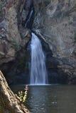 Листовка на фронте водопада Trakan диаграммы Стоковое фото RF