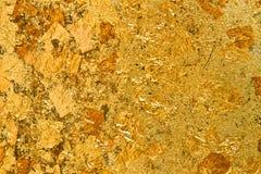 Листовое золото Стоковая Фотография