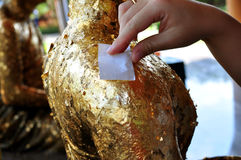 Листовое золото стоковые изображения