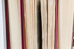 Листы книг Стоковые Изображения