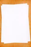 Листы чистого листа бумаги Стоковые Фотографии RF