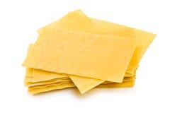 листы lasagne Стоковая Фотография