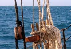 листы sailing Стоковые Изображения