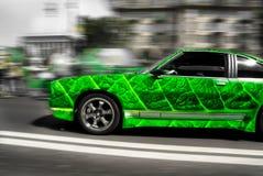 листья автомобиля Стоковое Изображение
