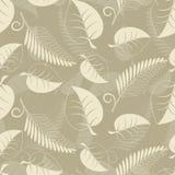 листья бежа Стоковое Изображение RF