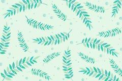 Листья в воде бесплатная иллюстрация