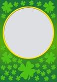 листья градиента клевера Стоковое Фото