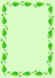 листья граници предпосылки бесплатная иллюстрация