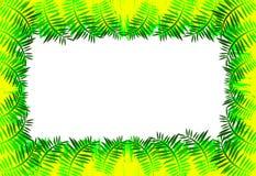 листья граници Стоковое Фото