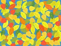 листья делают по образцу безшовное Стоковые Изображения