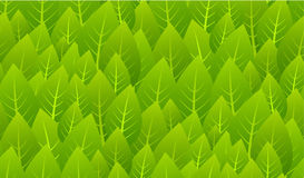 листья делают по образцу безшовное Стоковые Изображения RF