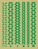 Листья дерева, соединенные к цепи Стоковое Изображение RF