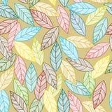 Листья делают по образцу безшовное Стоковое Изображение