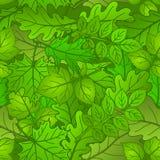 Листья заводов, безшовные, лето бесплатная иллюстрация