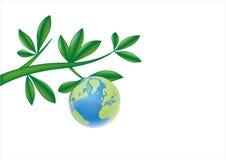 листья земли иллюстрация вектора