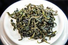 Листья зеленого чая Стоковые Фотографии RF
