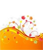 листья знамени осени Стоковая Фотография RF
