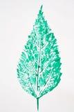 листья искусства Стоковые Фото