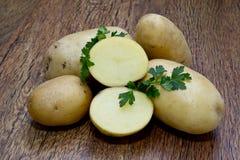 Листья картошки и петрушки Стоковые Изображения RF