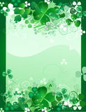 листья конструкции клевера Стоковое Фото