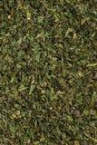 Листья крапивы травяного чая предпосылки еды высушенные Стоковые Фотографии RF