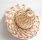 Листья ладони шляпы лист кокоса стоковая фотография