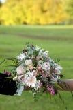 листья невесты букета осени Стоковые Фотографии RF