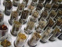 листья освобождают чай Стоковое фото RF